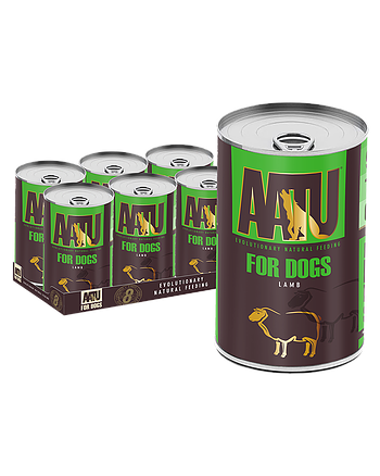 AATU FOR DOGS - LAMB (400G X 6)