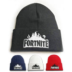Fortnite Knitted Embroidery Hat -- Castle Pattern