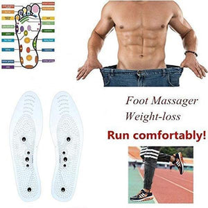 Unique Acupressure Magnet Massage Foot Insole Anti-Fatigue Foot Pain Insole