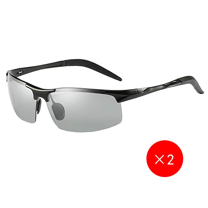 Discolored Lenses Driving Polarized Sunglasses