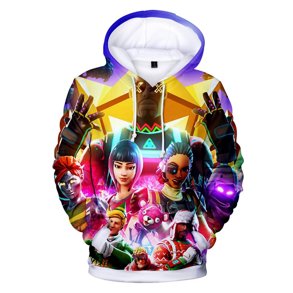 Fortnite Hooded Long Sleeve Pullover