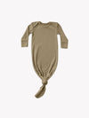 Ribbed Knotted Baby Gown