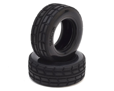 Tamiya On Road Racing Truck Tires 2pcs For TT01 TT02 Trucks #51589 [51589]