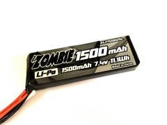TEAM ZOMBIE LP15002SL 1500mah 7.4V receiver pack for 1/10 nitro touring
