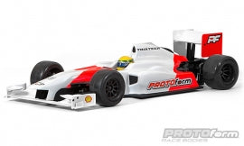 F1-Thirteen Clear Body for F1 for 1:10 Formula 1
