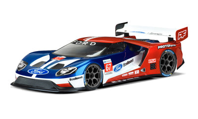 Ford GT Clear Bodyfor 190mm TC