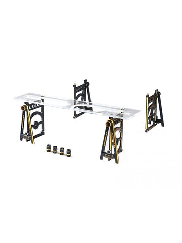 AM-171040 Set-Up System For 1/10 Touring Cars With Bag Black Gold