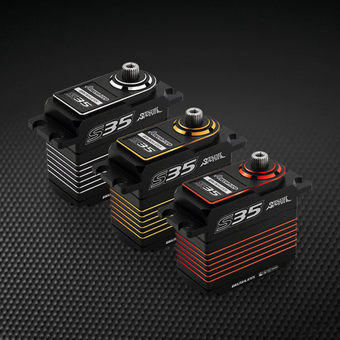 Power HD S35 Brushless Servo (0.075s/30.0kg/7.4V)