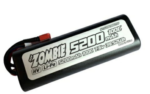 Team Zombie 5200mah 100c 7.6Volt 100CTruck Battery High Output NOW INSTOCK