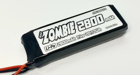 Team Zombie Receiver Lipo 7.4V 2800Mah LP28002SL