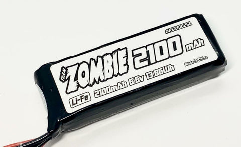 TEAM ZOMBIE 2100mAh 6.6v RX/TX BATTERY PACK