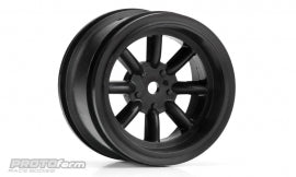 PROTOform VTA FRONT Wheels Black (26mm)