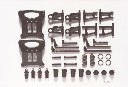 Tamiya 51003 - TT-01 - B-Parts - Suspension Arms, Bumper and Body Posts