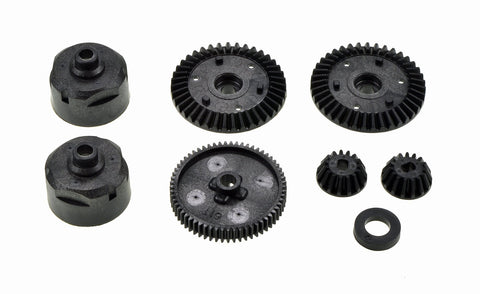 Tamiya 51004 - TT-01 - G-Parts - Gear - BLACK