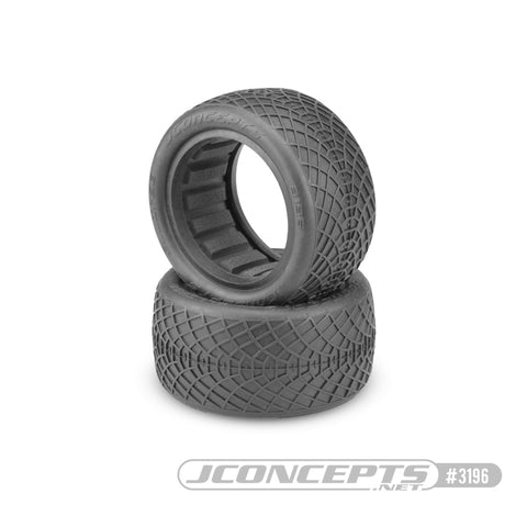 "Ellipse - 2.2 Buggy Rear blue compound - 2.2"" 1/10th Includes Dirt-Tech closed cell inserts Sold in pairs. JC3196-01"