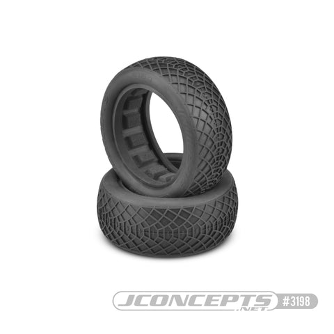 "Ellipse - 2.2 4wd Buggy front blue compound - 2.2"" 1/10th Includes Dirt-Tech closed cell inserts Sold in pairs. JC3196-01"