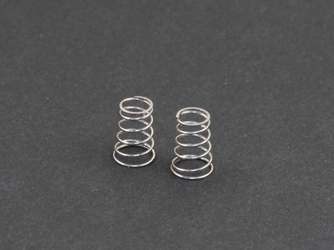 330163 Front Springs (Soft), Silver
