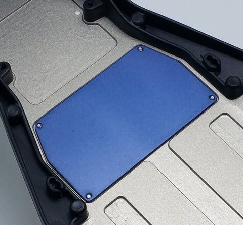 175RC B6/D Aluminum Chassis Weight 13G (Blue)