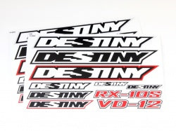 D10118 Destiny Decal, 2 pcs