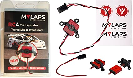 MY LAPS 10R120 (AMB) RC4 Personal Transponder (3 Wires)
