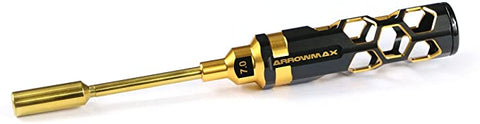 AM-450170-BG Nut Driver 7.0 X 100mm Black Golden