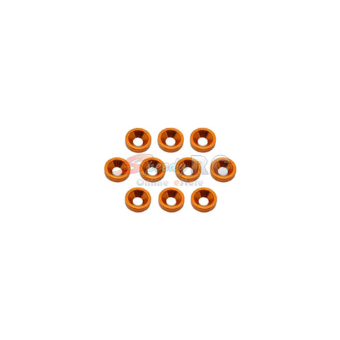 ArrowMax Alu M4 Countersink Washer-Orange (10) AM-020042