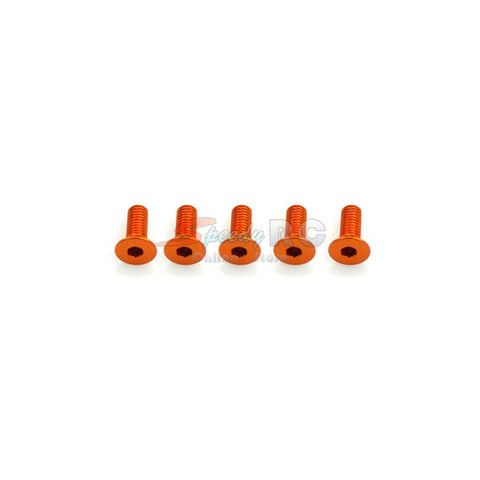 ArrowMax Alu Screw allen countersunk M3x8 Orange AM-14CS3008-O