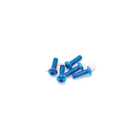 ArrowMax Alu Screw allen roundhead M3x10 Blue (7075)
