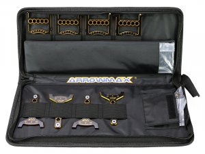 ARROWMAX Set-Up System For 1/10 Off-Road Cars With Bag Black AM-171041