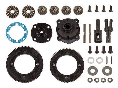 Team associated RC10B74 DIFFERENTIAL SET, CENTER ASC92144