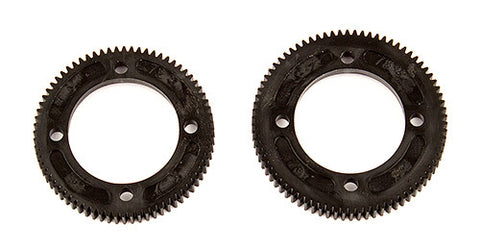 Team associated RC10B74 CENTER DIFF SPUR GEARS, 72/78 TOOTH ASC92149