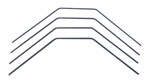 Team Associated RC10B74.1 Anti-roll Bar Set, 1.4-1.7mm ASS92290