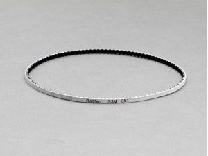 BEL-10005 Radtec Low Friction White Front Or Rear Drive Belt (S3M351) for Stock (A800) Mid Motor