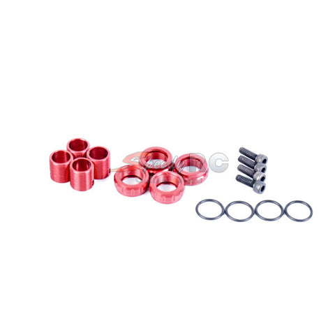 VBC Racing Body Height Adjuster Set V2 (Red) D-05-VBC-0184