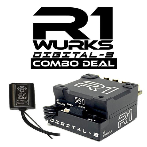 R1 WURKS DIGITAL 3 SPEED CONTROLLER & WIFI MODULE COMBO