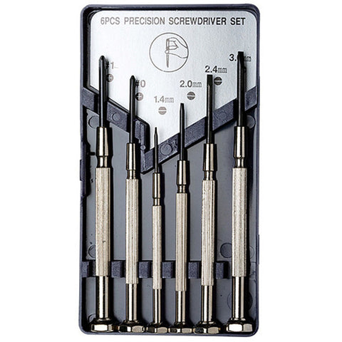 EXCEL 55662 6 PIECE PRECISION SCREWDRIVER SET