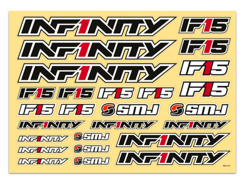 IF 15 Decal (Black) IF 15 Decal (Black)