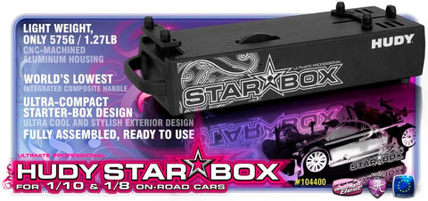 HUDY STAR-BOX ON-ROAD 1/10 & 1/8 - HD104400
