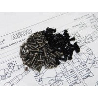 Titanium hex head screw set - 60 pcs (TLR 22 2.0 - rear motor)