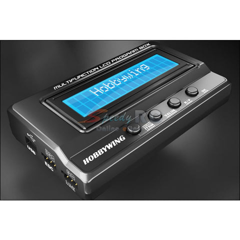 Hobbywing 3 In 1 Professional Multifuction LCD Program Box 3050200014