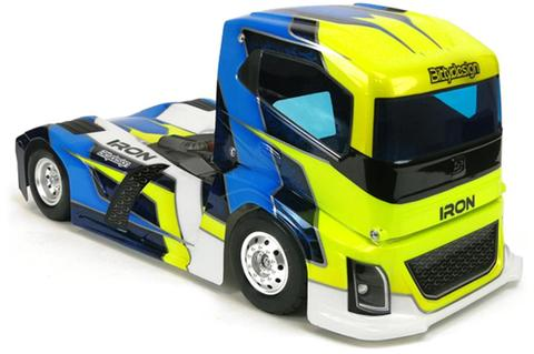BITTYDESIGN IRON 1/10TH TRUCK BODY (BDTRK-190IRO)  BDTRK-190IRO