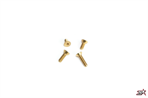 MR33 Flathead Brass Screw  MR33-FBS308 (5Pce)