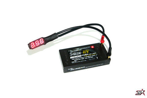 MR33 LiPo Voltage Checker (4 / 5mm plug)  MR33-LVC