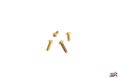 MR33 Roundhead Brass Screw MR33-RBS308  (5Pce)
