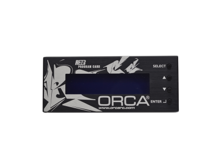 ORCA ESC PROGRAM CARD - SD VERSION FOR R32 ESC
