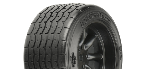 PROTOFORM VTA REAR TYRES 31MM MOUNTED ON BLACK WHEELS - PR10139-18