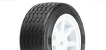 PROTOFORM VTA FRONT TYRES 26MM MOUNTYED ON WHITE WHEELS - PR10140-17