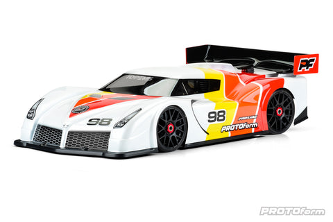 PROTOFORM HYPER SS CLEAR BODY SHELL FOR 1-8TH GT - LIGHT WEIGHT - PR1572-30