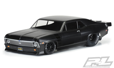 PROLINE CHEVROLET NOVA CLEAR BODY FOR SLASH 2WD DRAG CAR - PR3531-00