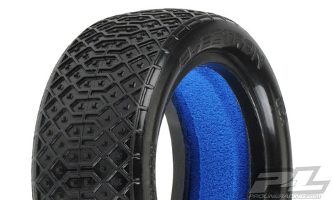 "PROLINE ELECTRON 2.2"" 4WD M4 (SOFT) OFF-ROAD BUGGY FRONT TIRES (2) (WITH CLOSED CELL FOAM) - PR8240-03"
